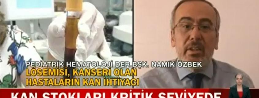 Kızılay Kan Bağışı Prof. Dr. Namık Özbek